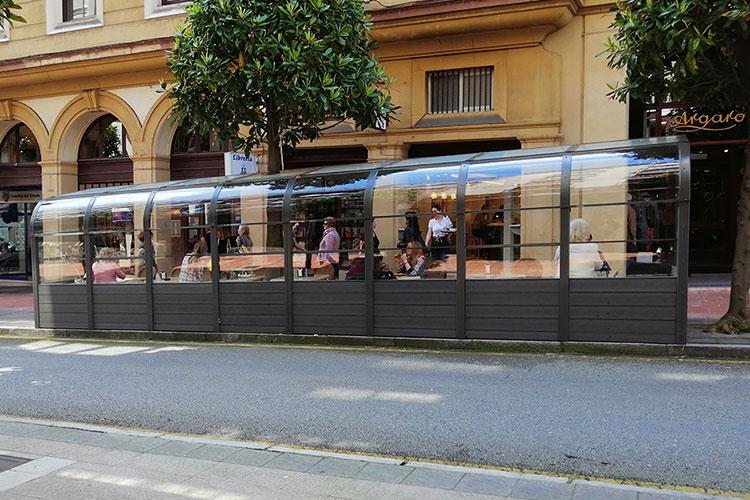 Terraza para bar