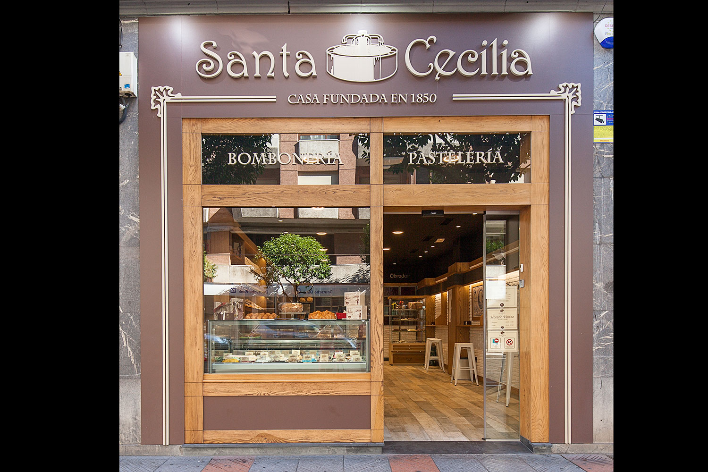 Confitería Santa Cecilia, León